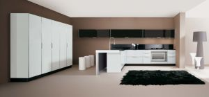Favorites Compare 2014 Hot Sale White High Glossy Lacquer Kitchen Cabinet pictures & photos