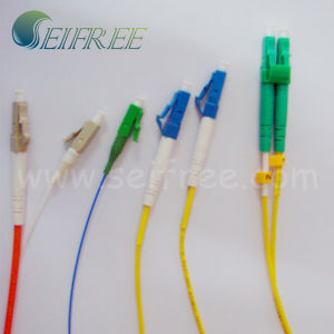 Single Mode LC Connectors Fiber Optic Pigtail Cable pictures & photos
