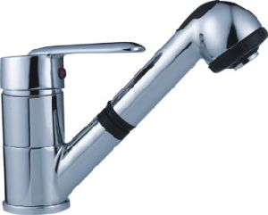 Popular Single Lever Pull-out Kitchen Mixer (TP-1013) pictures & photos