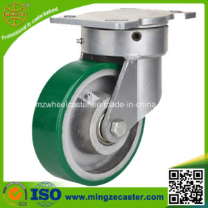1ton Heavy Duty Swivel Cast Iron Trolley Wheel Caster pictures & photos