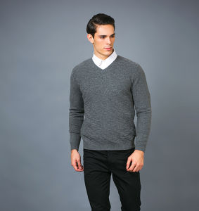 Men′ S Fashion Cashmere Sweater 17brpv071 pictures & photos