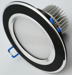 LED Downlight, Recessed Light, Ceiling Light, Black Body CE&RoHS
