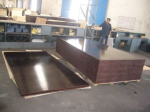 18mm /21mm WBP Glue Brown and Black Phenolic Film Faced Plywood