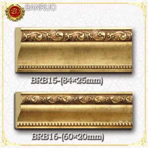 Plastic Picture Frame Moulding (BRB15-8, BRB16-8) pictures & photos