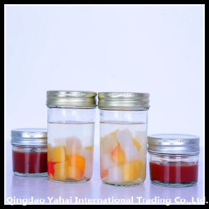 300ml Set Clear Glass Straight Jar pictures & photos