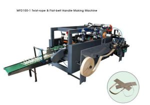 Paper Handle Making Machine (WFD100-1) pictures & photos