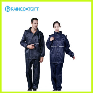 High Quality Waterproof Nylon Polyester Raincoat Rpy-010 pictures & photos