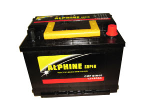 Car Battery DIN60 Mf Lead Acid Battery of High Quality pictures & photos