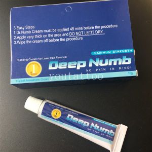 China Based Deep Numb Tattoo Cream Topical Anesthetic Gel Pain ...