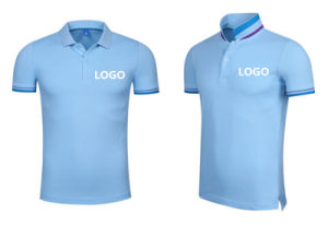 Hot Sale OEM Embroidery Pique Fabric Breathable Polo Shirt with Company Logo