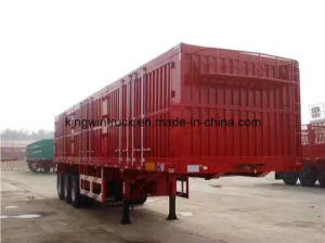 China Brand Three Axles Cargo Semi Trailer