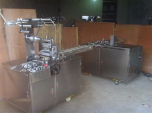 Soap BOPP Cellophane Overwrapping Machine (with tear tape) pictures & photos