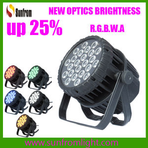 Outdoor LED Stage PAR Light 24X18W RGBWA+UV pictures & photos