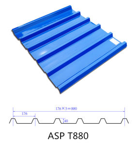 Jieli 880mm Industrial Using Asp Roofing Sheet pictures & photos