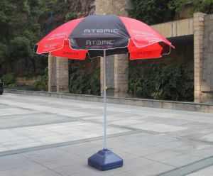 48inch Custom Logo Printed Promotional Beach Umbrella pictures & photos