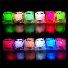 Multicolor LED Ice Cubes (RCL-016)