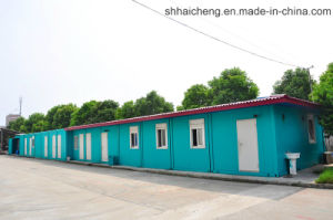 Container Office in Factory (SHS-mh-office026) pictures & photos