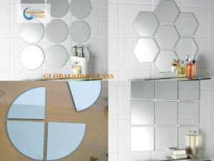 4-6mm Art Mirror with Different Size and Shape pictures & photos