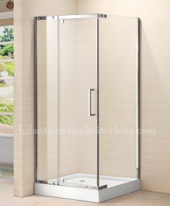 Shower Enclosure with Stainless Steel Fitting Components (LTS-028) pictures & photos