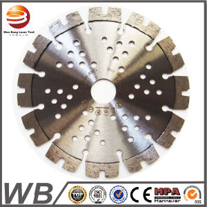 Laser Welded Diamond Saw Blades for Asphalt/Green Concrete pictures & photos