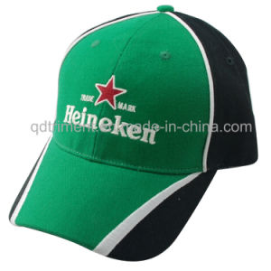 Heavy Brushed Cotton Twill Embroidery Baseball Cap (TRNB007) pictures & photos