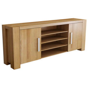 Solid Wood Furniture-2 Door TV Cabinet/Stand