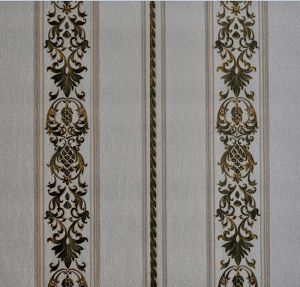 Italy Design Heavy Embossed PVC Wall Paper
