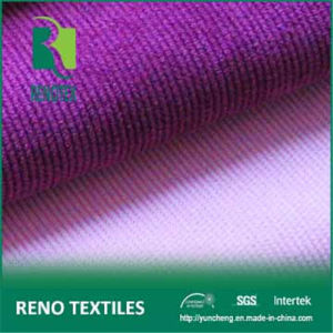 86%Poly 11%Nylon 3%Span P/N Microfiber Solid Dyed Garment Fabric Stretch Corduroy Fabric