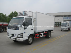 02d574f84d China Refrigerator Truck Cooler Van for Fresh Vegetable and Milk ...