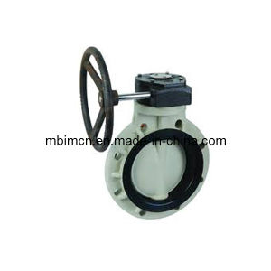 Plastic Butterfly Valve with Handwheel pictures & photos