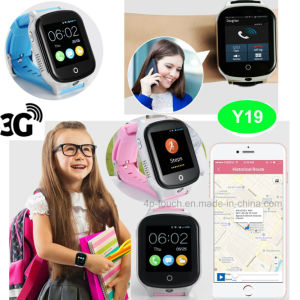 Touch Screen Wrist GPS Tracker Watch with 3G WiFi Network pictures & photos