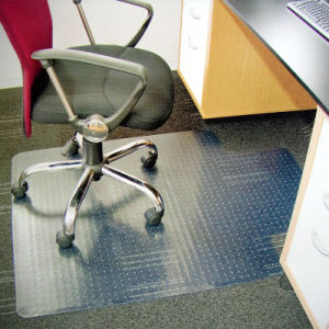 China Customized Pvc Office Chair Mat
