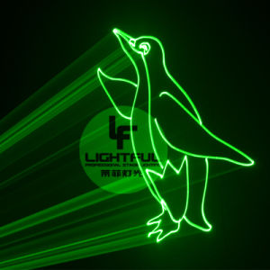 Cheap 5W Green Laser Light Roof Building Logo Projector