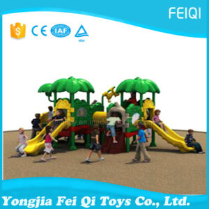 Children Play Game Outdoor Playground Equipment, Kids Outdoor Playground Full Plastic Series (FQ-19801)