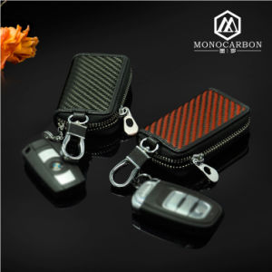 Top Selling High Quality Carbon Fiber Key Bag Ring Holder for Fancy Key Holders pictures & photos