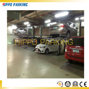 China Hydraulic Two Post Car Garage Lifts 2300kg Movable Car