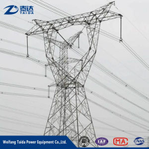 Double Circuit Triangular 20FT 30FT 35FT 40FT Angular Galvanized Steel Power transmission Tower