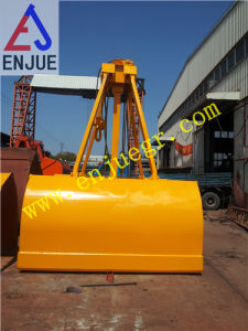 Single Rope Touch Open Clamshell Grab Bucket for Sale in China pictures & photos