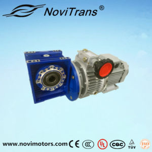 0.75kw AC Permanent Magnet Motor with Speed Governor and Decelerator (YFM-80A/GD) pictures & photos