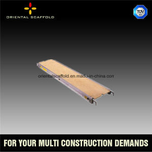 Aluminum Plywood Scaffold Plank with Strong Loading Capacity pictures & photos
