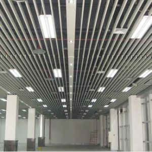 PVDF Coating Aluminum Extrusion Baffle Suspended Ceiling pictures & photos