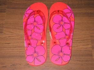 Rubber PE Foam Flip Flop with Customer′s Design
