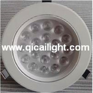 18X1w White Shell LED Downlight