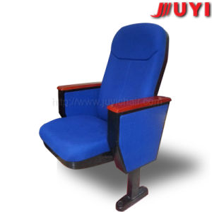 Jy-615s Outdoor 4D Motion Stackable English Movies Wood Part with Armrest Movable Church Chair Cover Fabric USD Theater Seats pictures & photos
