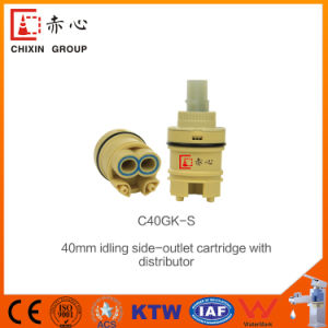 40mmbathroom Faucet Cartridge with Distributor pictures & photos