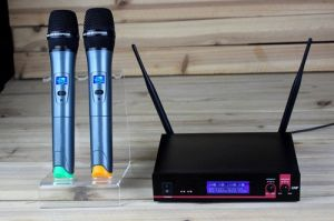 Gymsense Professional Dual Channels UHF Wireless Microphone