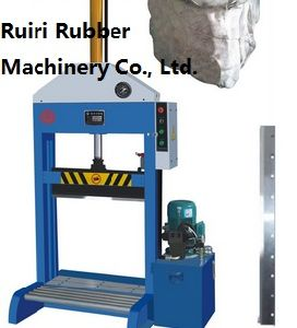 Vertical Single Blade Rubber Hydraulic Cutter/Xq-800 Cutting Machine (CE&ISO9001) pictures & photos