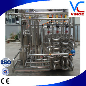 300L Small Capacity Tubular Type Automatic Uht Milk Plant pictures & photos