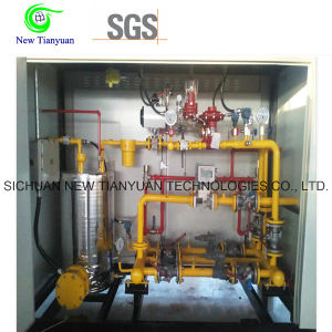 Manufactured Gas/Natural Gas Pressure Skid Regulating Device