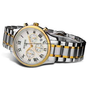 Stainless Steel Sport Business Men′s Wrist Watch pictures & photos